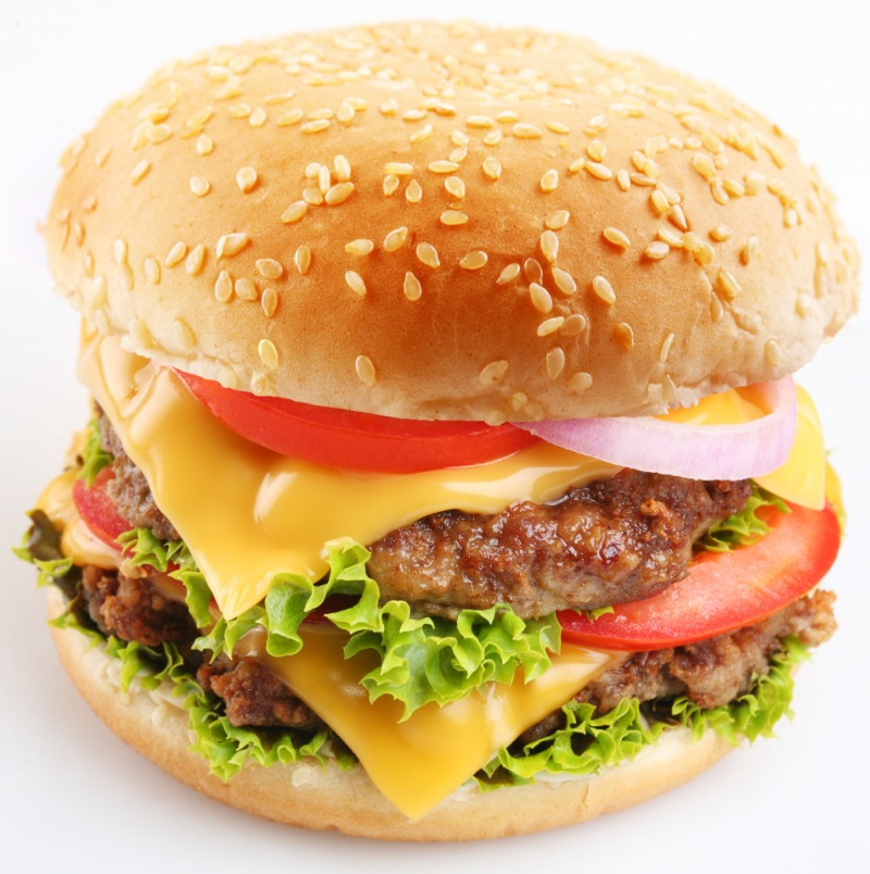 """""""CREATE YOUR OWN"""" Burger w/ Choice Of Side Image"""