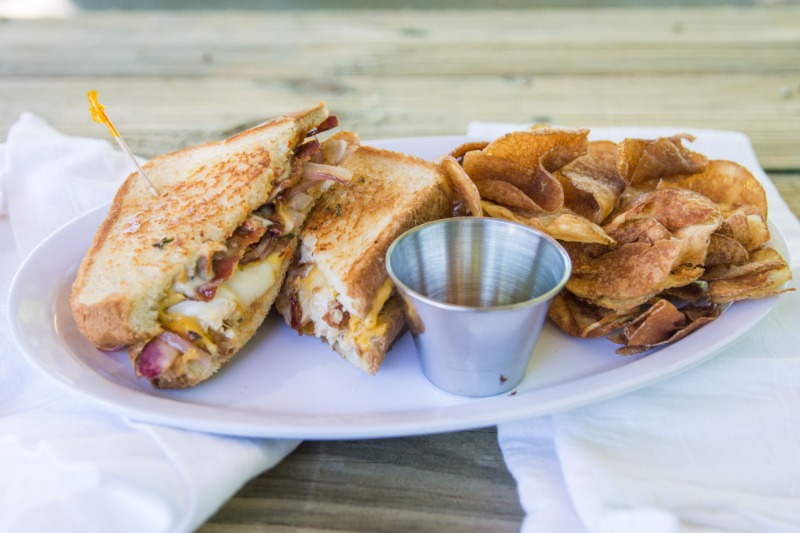 3-CHEESES-STEAK MELT w/ Choice Of Side Image