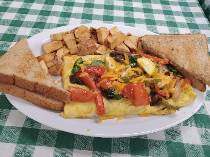 (3) EGG Veggie Omelet