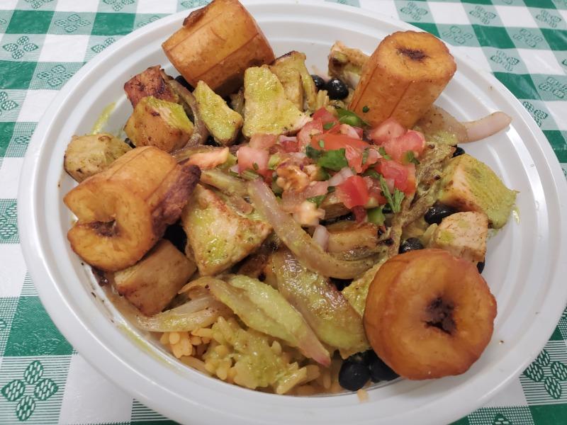 JERK Caribbean RUM Chicken BOWL Image
