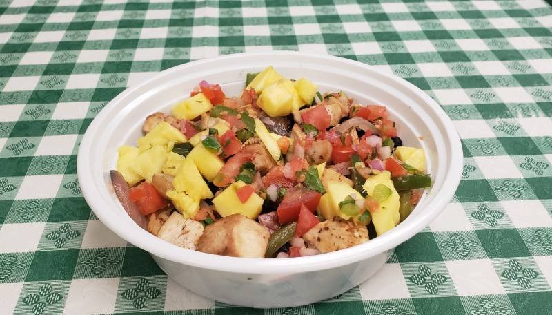 COCONUT RUM Hawaiian Chicken BOWL Image