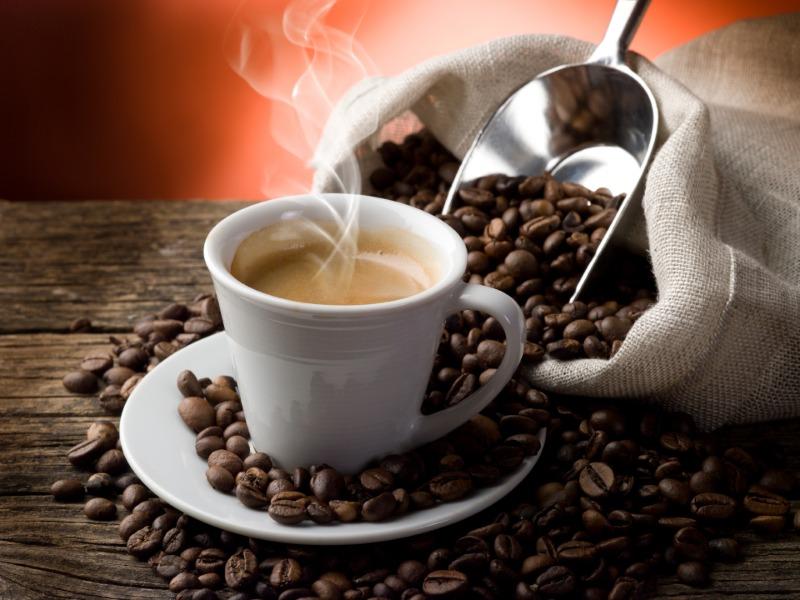 Freshly Brewed COFFEE/HOT TEA Image