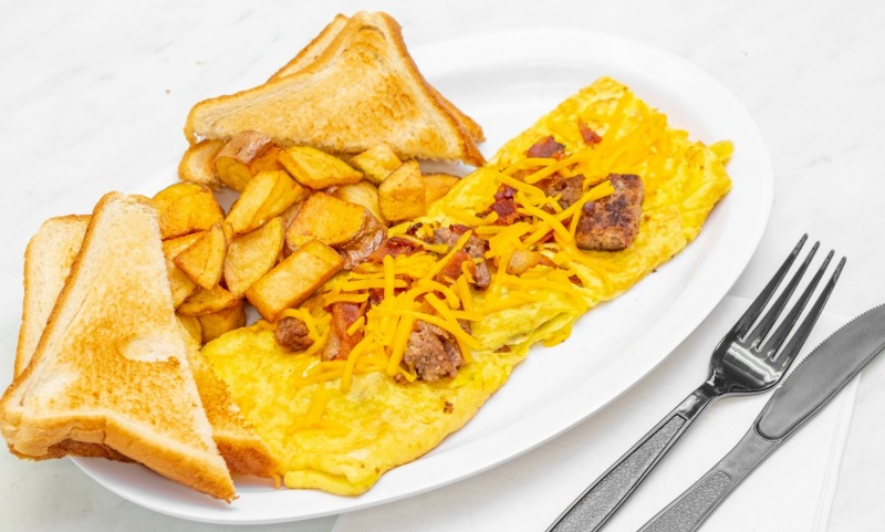 2 Meat WILLIE OMELET Image