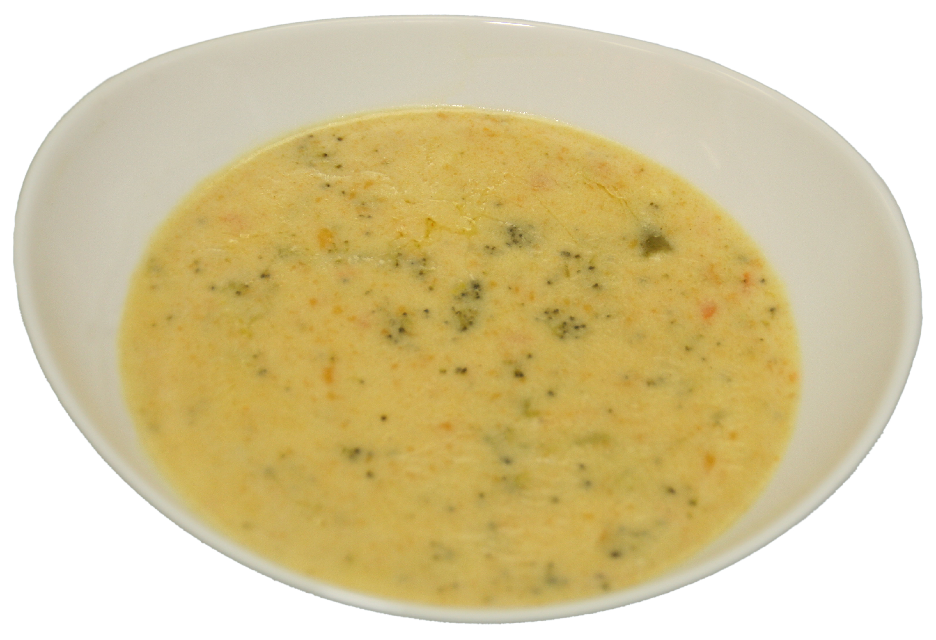 Large Homemade Cream of Broccoli & Cheddar Cheese Soup Image