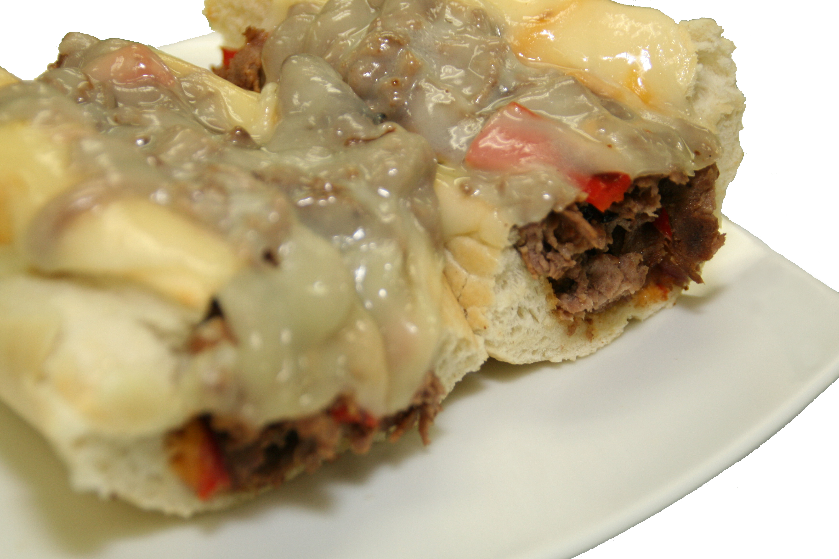 Special-Over-Stuffed Steak & Cheese Sub w/ CHOICE OF SIDE Image