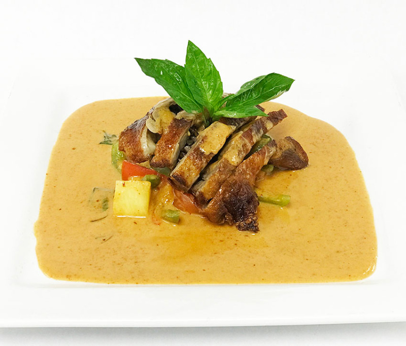 Roasted Duck with Red Curry Image