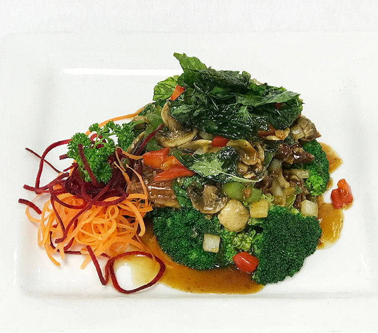 Spicy Basil Duck Image