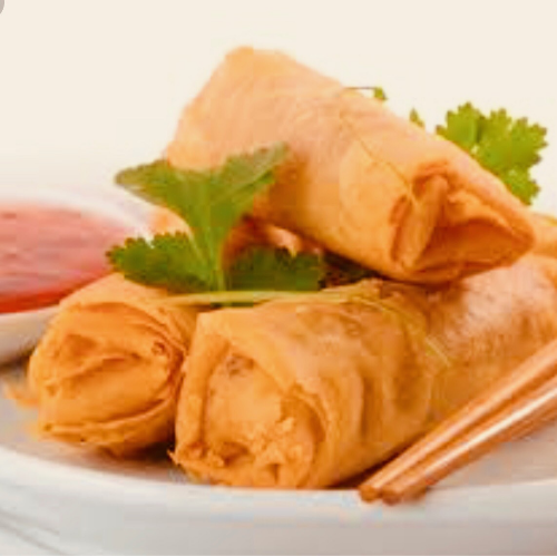 1) Spring rolls (4 rolls) Image