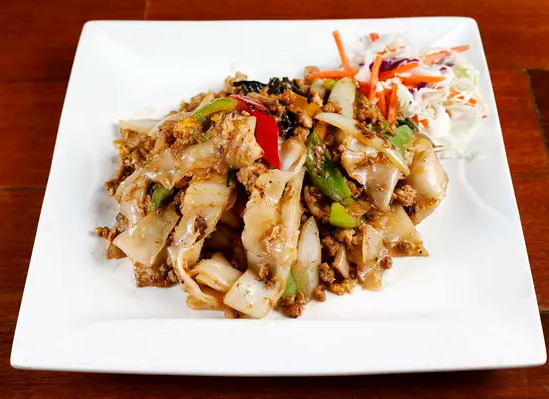 Drunk Noodles (Pad Kee Moaw)