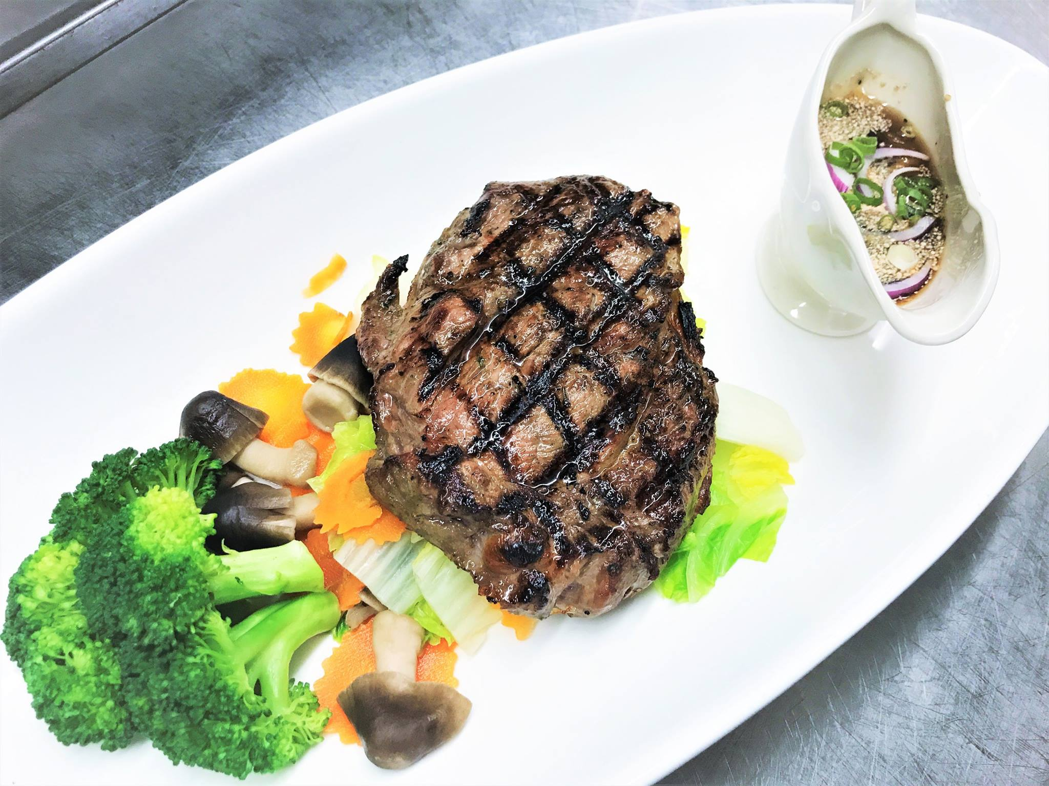 Northeastern Thai Style Steak Image