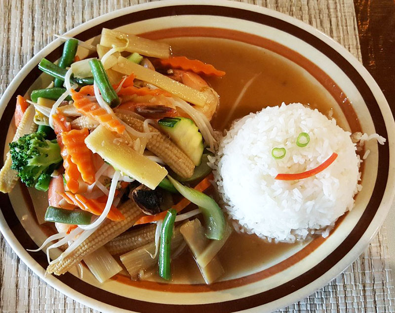 Mixed Vegetable stir fried (Lunch) Image