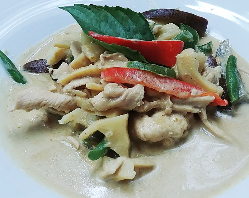 C1. Green Curry Image