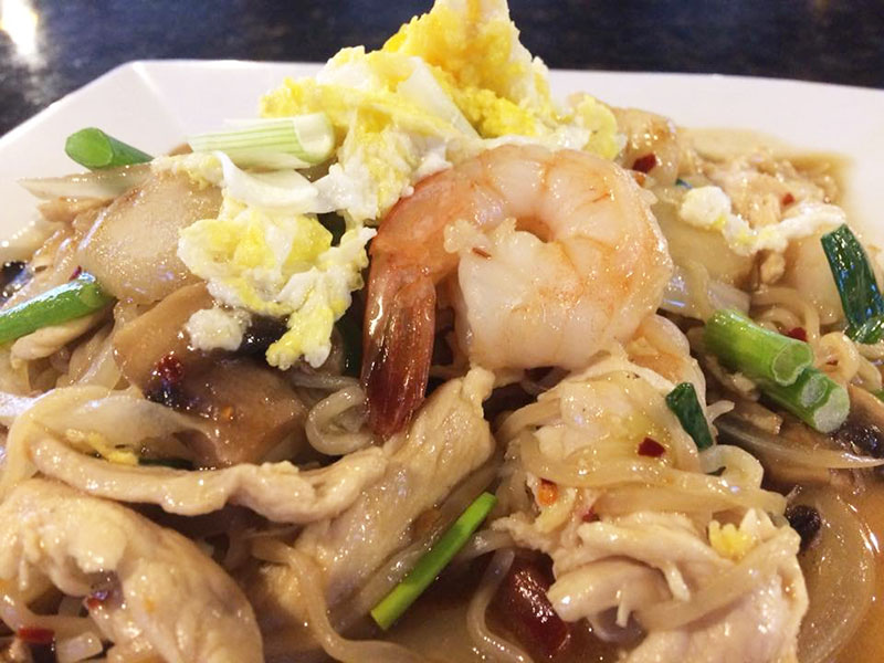 Pad Ba-Mee (Lunch) Image