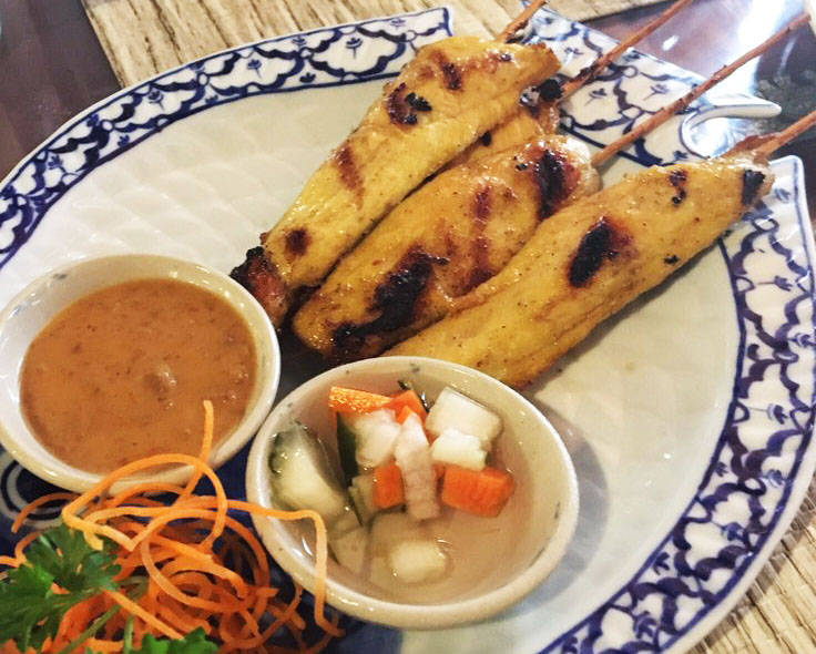 A1. Chicken Satay Image