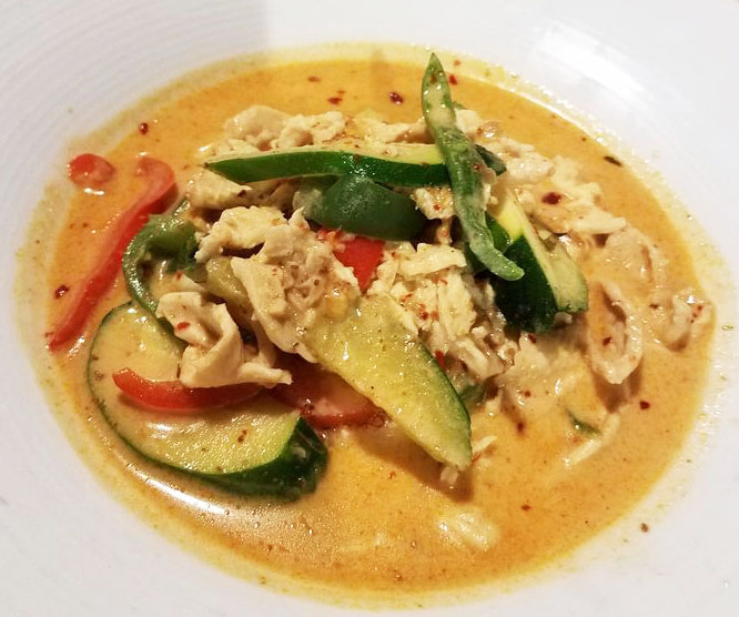 Panang Curry (Lunch) Image