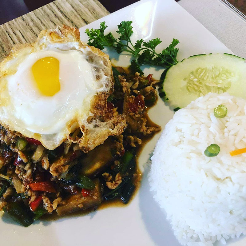 Pad Kra Prow (Lunch)