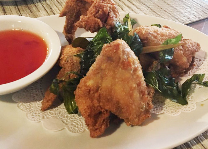 A2. Thai Herbed Wings Image