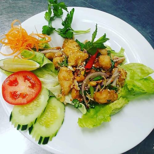 SL4.  Fish Salad Image