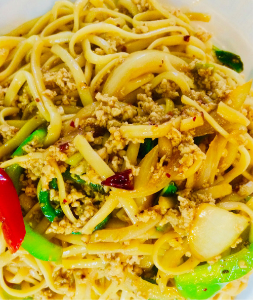 S2. Thai Drunken Pasta (Lunch) Image