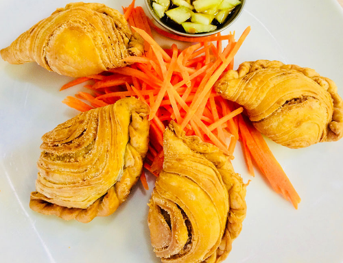 Thai Spicy Puff