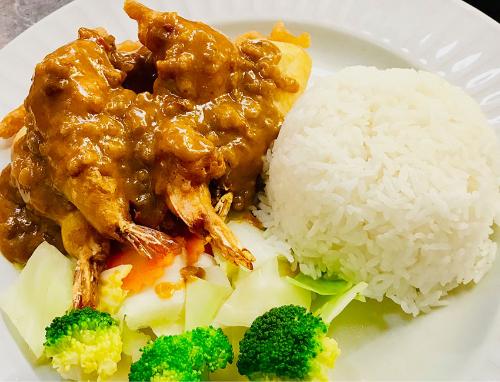 S6. Crispy Southern Panang Sauce (Lunch)