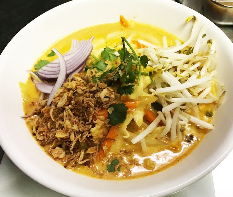 Yellow Curry Noodle (Kao Soi Noodle) Image