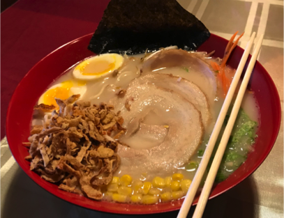 Tonkatsu Ramen Noodle soup (Pork Belly)