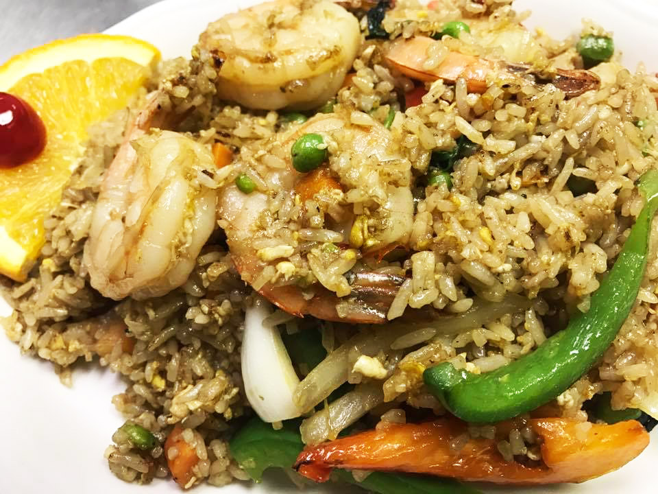 Basil Fried Rice (Spicy Fried Rice)