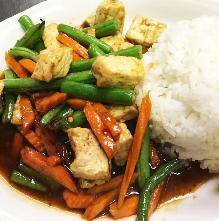 Spicy Green Beans (Pad Prik Khing) Image