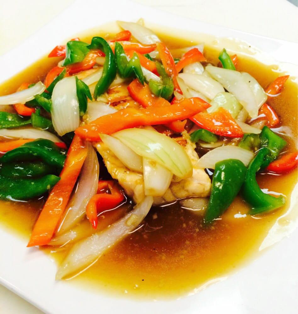 Salmon Garlic (Lunch) Image