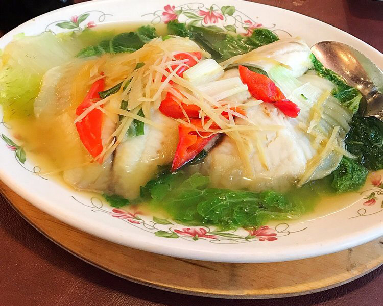 Steamed Ginger Fish
