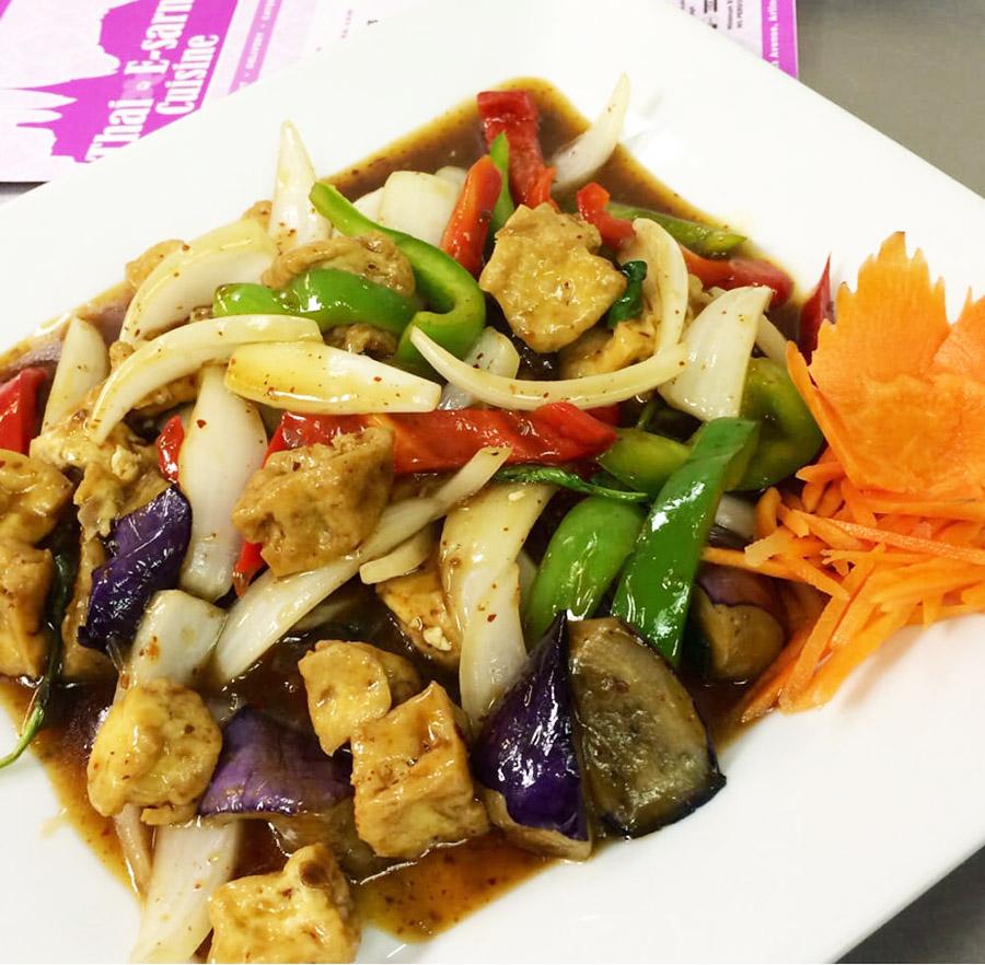 Spicy Eggplant Tofu