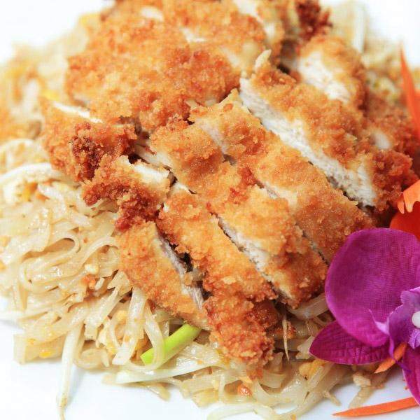 Pad Thai Kai Krob Noodle Image