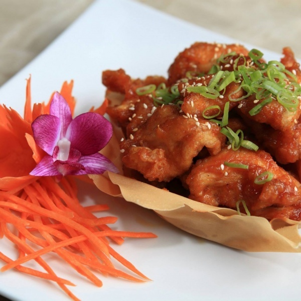 Thai Orange Chicken Image