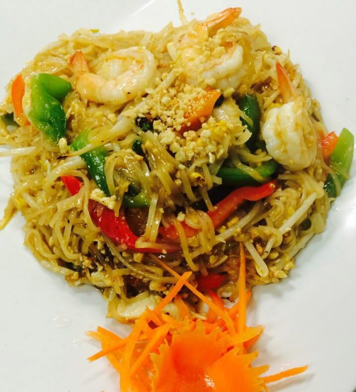 Pad Thai Basil Noodle Image