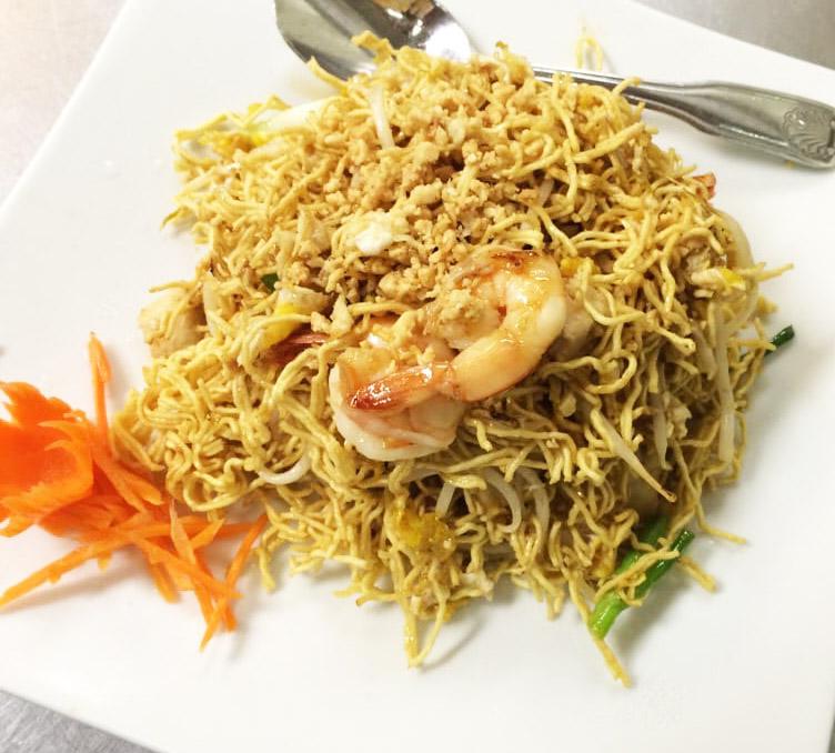 Crispy Noodle Pad Thai