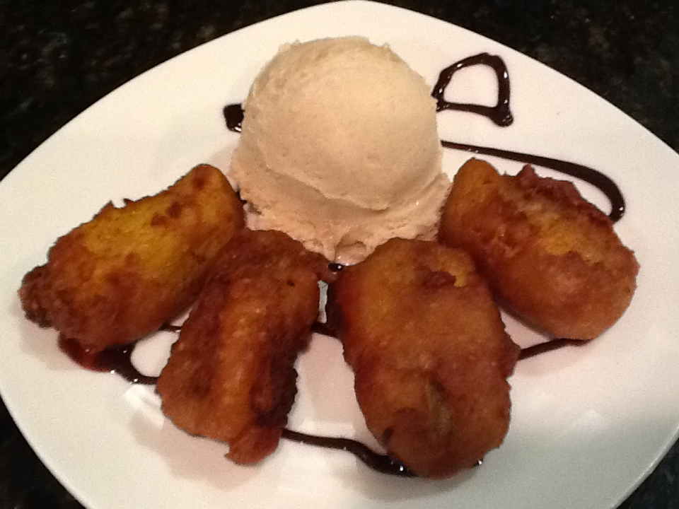 Fried Banana with Ice Cream  Image