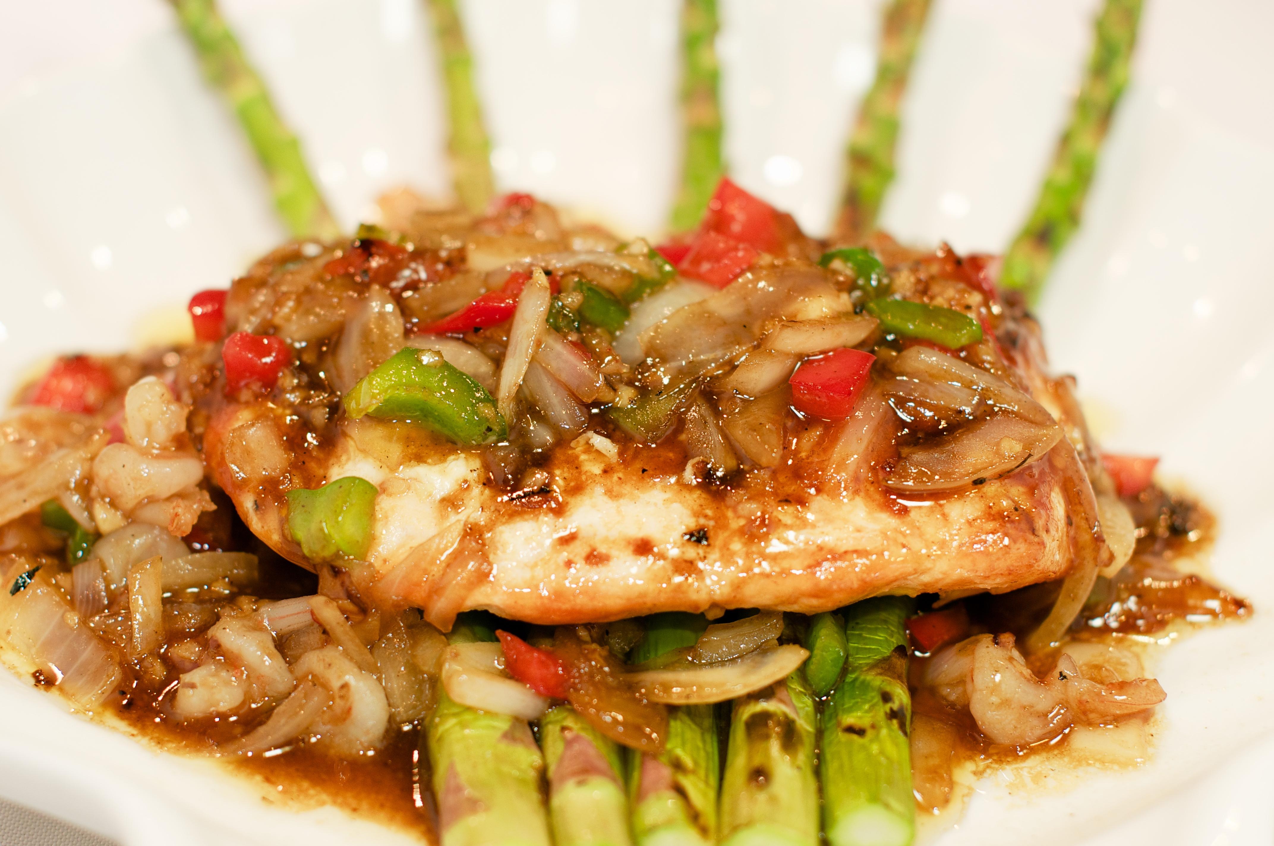 Garlic Salmon Image