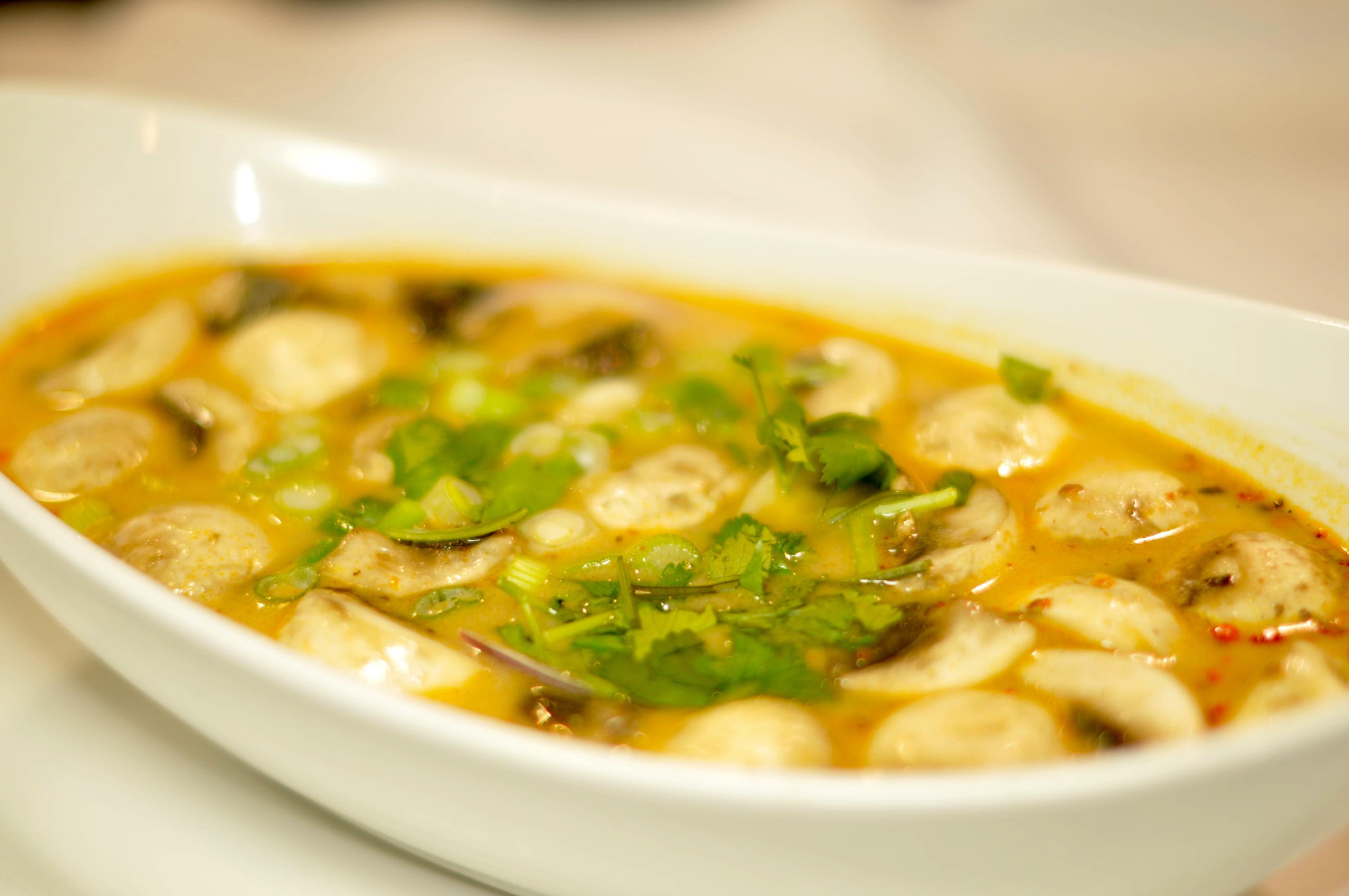 Tom Kha Gai (Coconut Chicken Soup)  Image