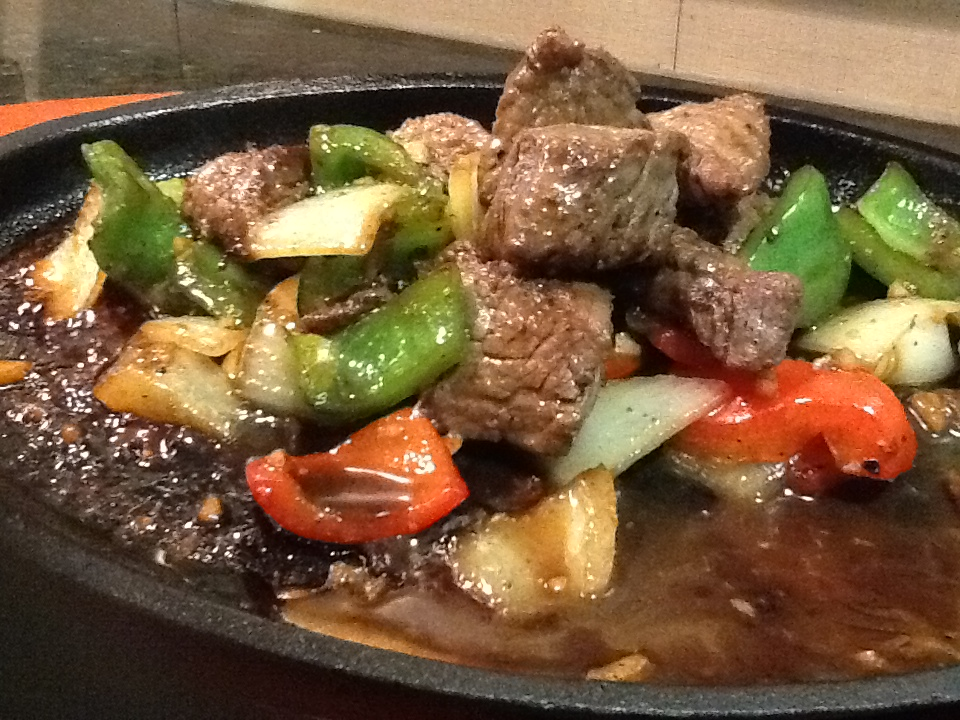 TGV Pepper Steak