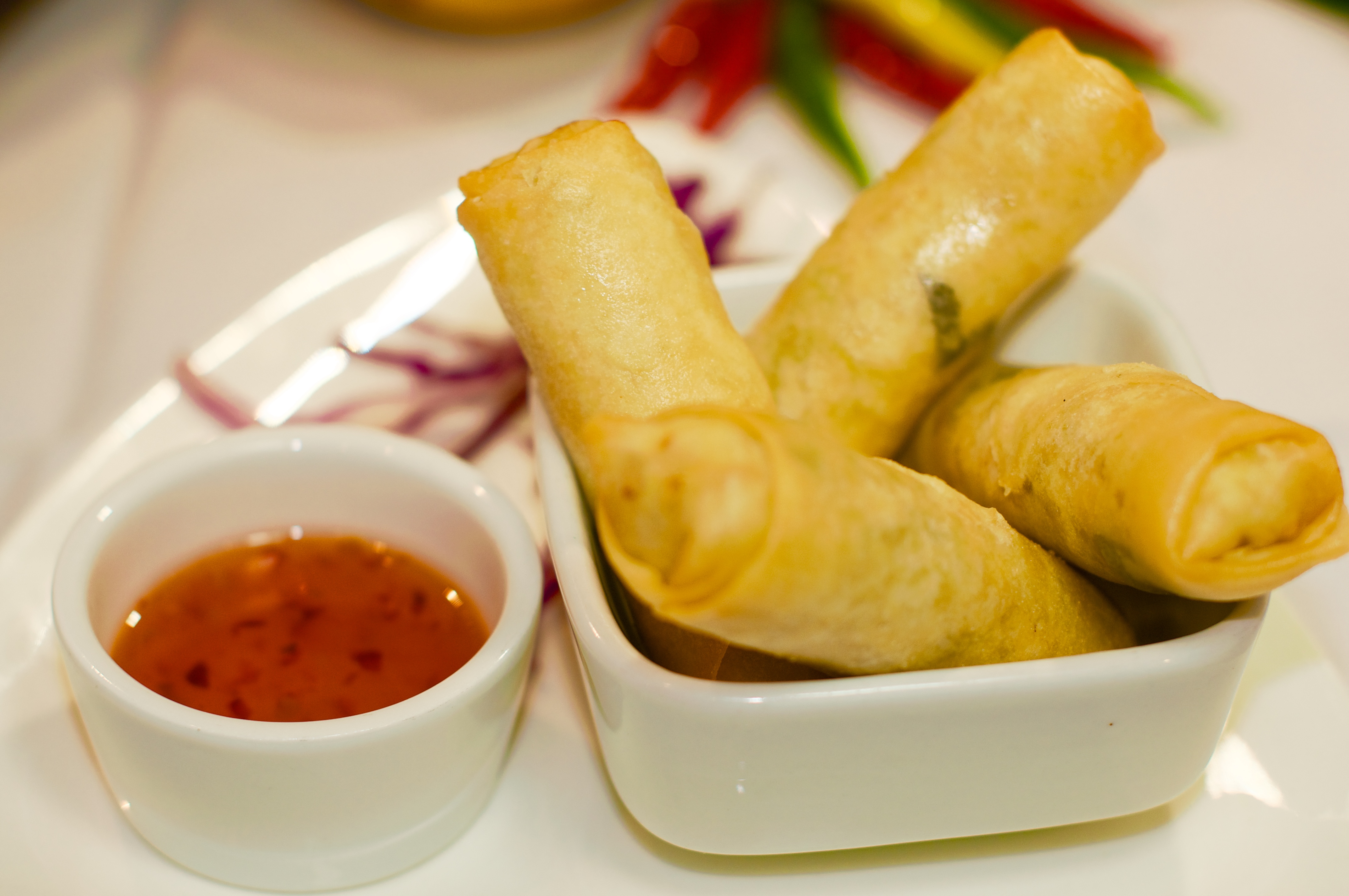 Homemade Egg Rolls Image