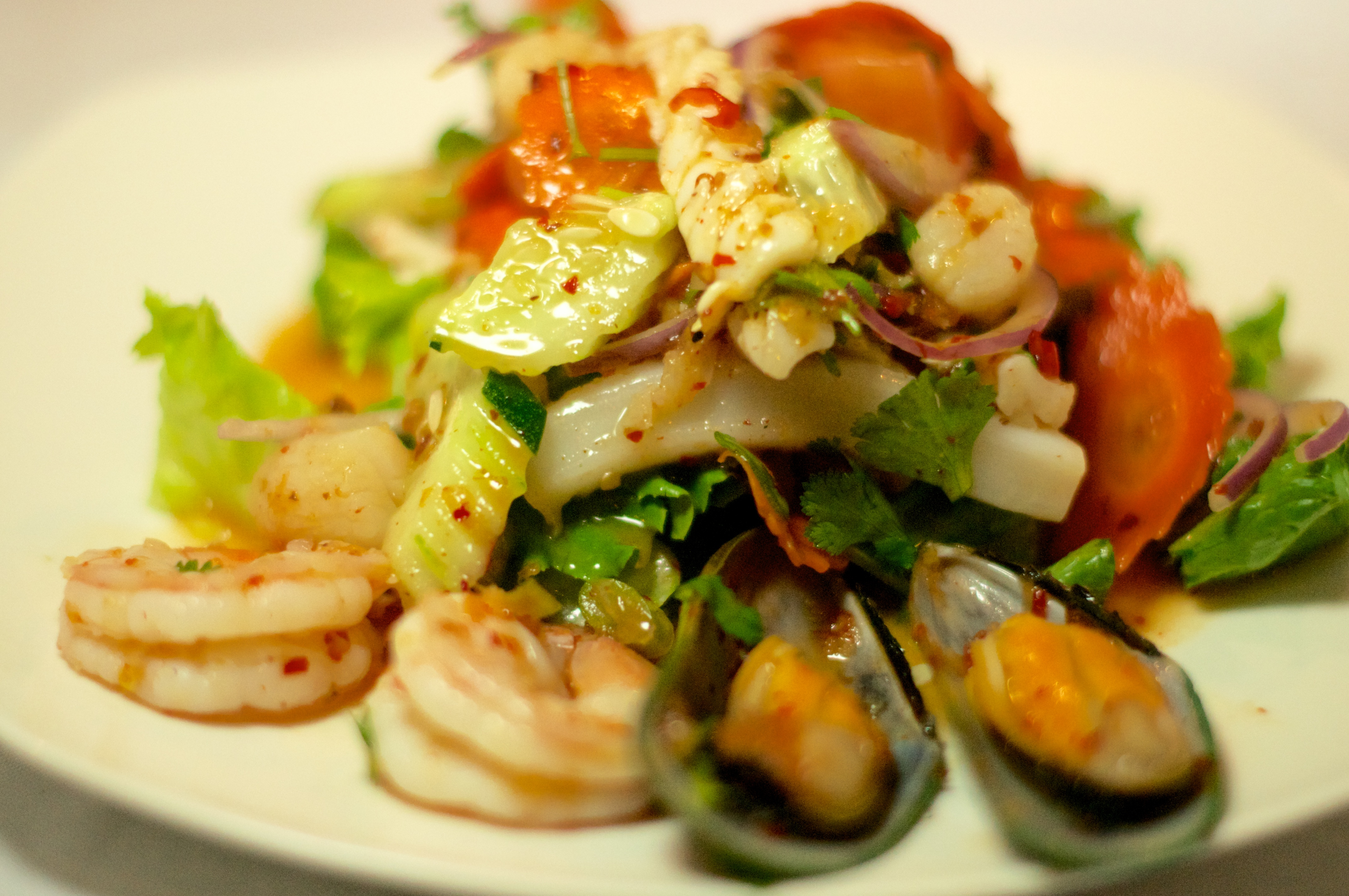 Yum Talay (Seafood Salad) Image