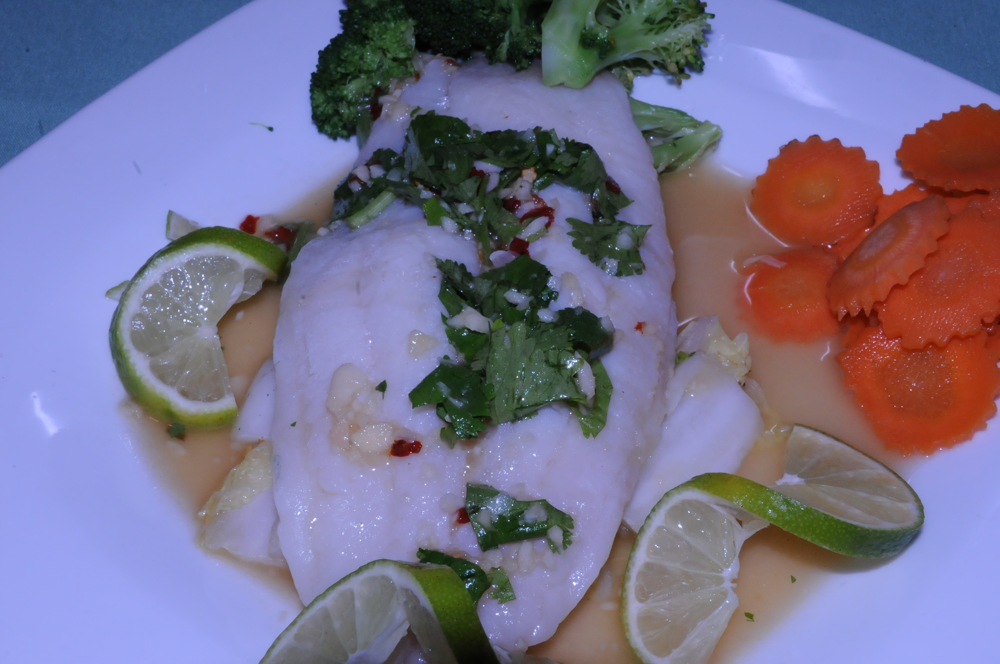 Steamed Fish  Image