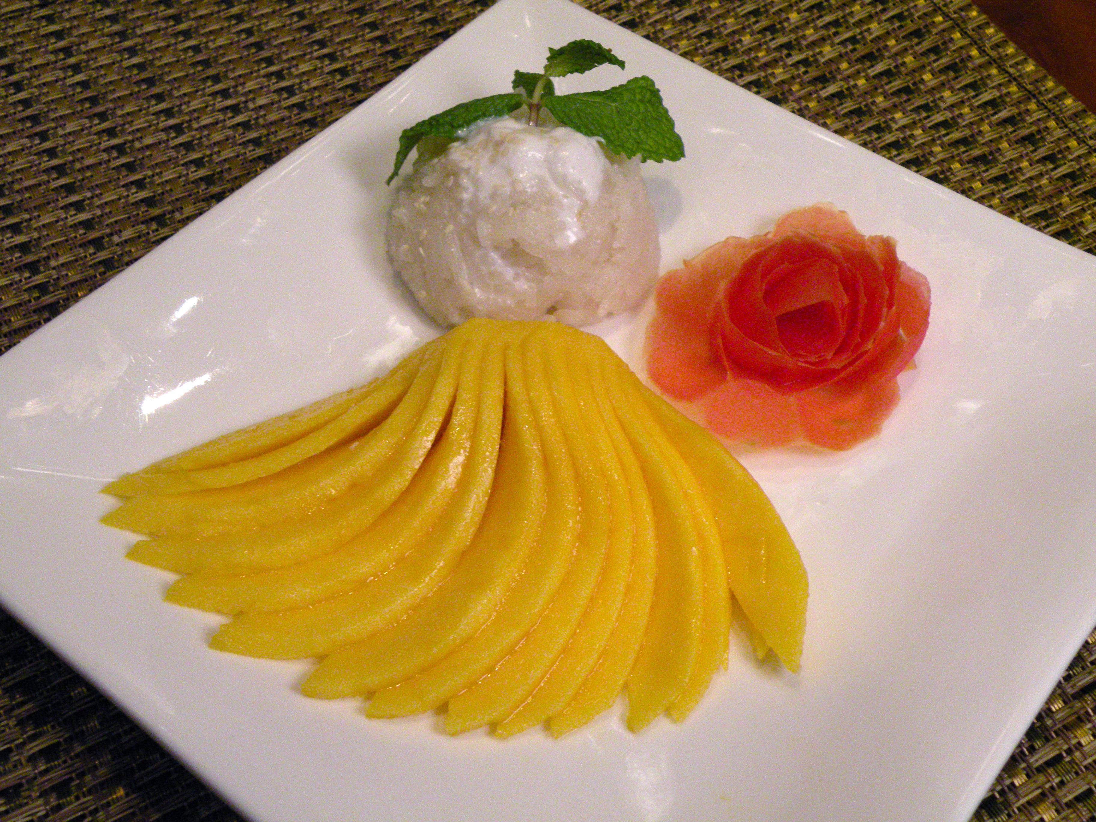 Mango Sticky Rice (seasonal) Image