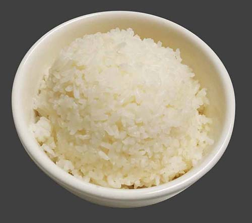 Steamed White Rice Image