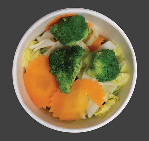 Steamed Mixed Vegetables Image