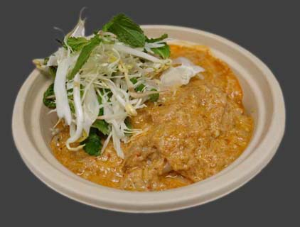 32 Khao Poon (with fish) Image
