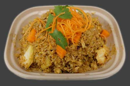 22 Yellow Curry Fried Rice Image