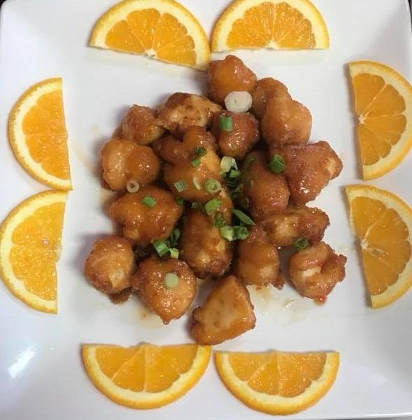 L-E5. Orange Chicken (Lunch) Image