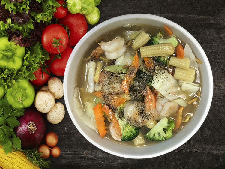 (45) Lad Nar Ta Lay (Seafood) Image